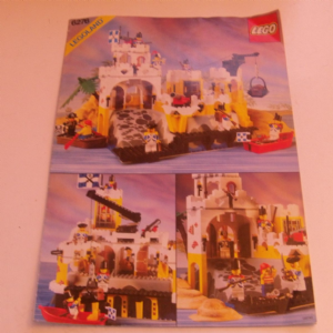 6276 Lego Eldorado Fortress 1989 Instructions @sold@